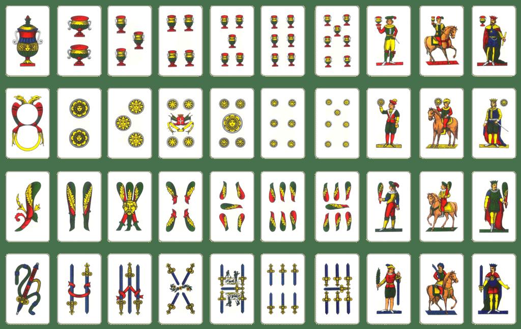6 Fiori Tarocchi Gabriella.Come Leggere Le Carte Napoletane Tarosh
