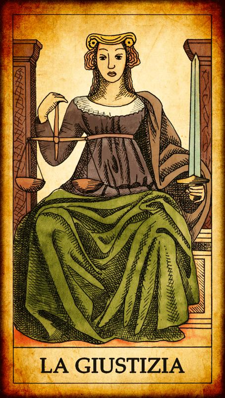tarocchi schema di lettura astrologico
